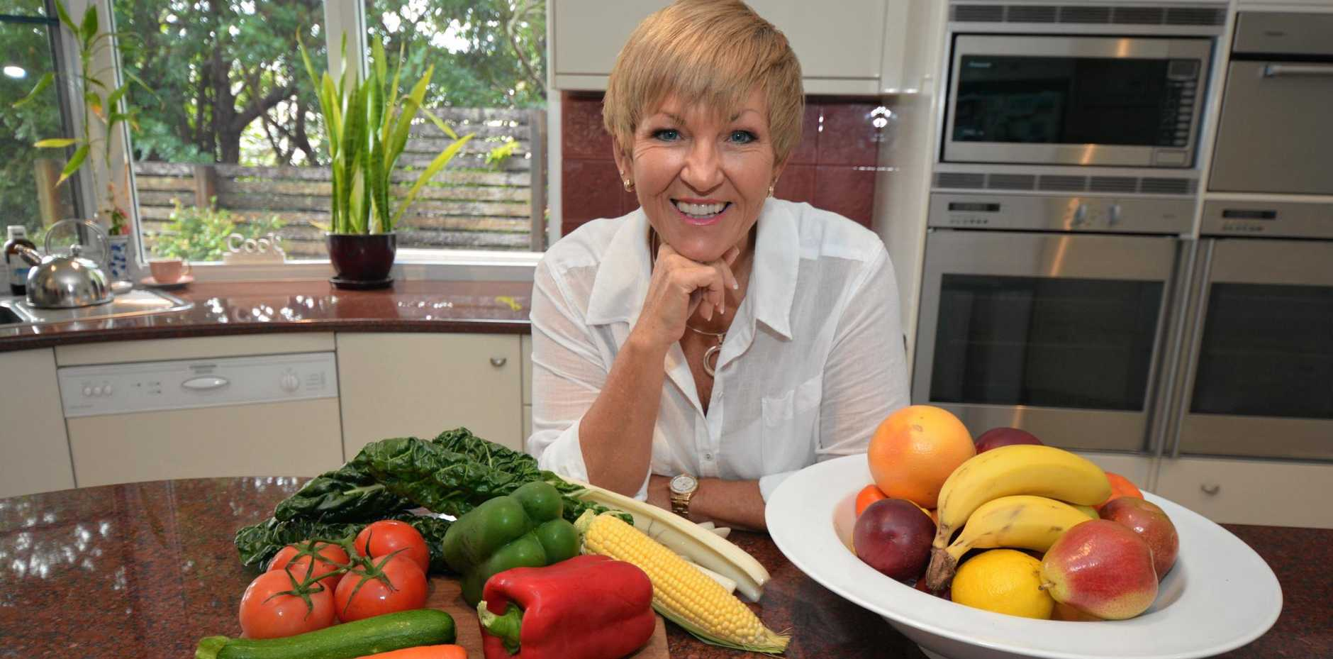 COOKBOOKS RELAUNCHED: Buderim health and weight-loss guru Annette Sym.