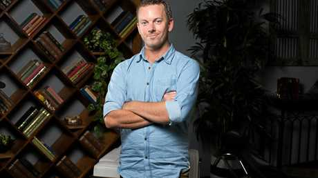 Booval's Simon McQuillan talks about the pressures of being on the TV series Married At First Sight. Supplied by Channel 9.