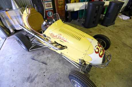 Brian King, of Wollongbar, has spent years collected an enviable collection of unique and vintage cars.