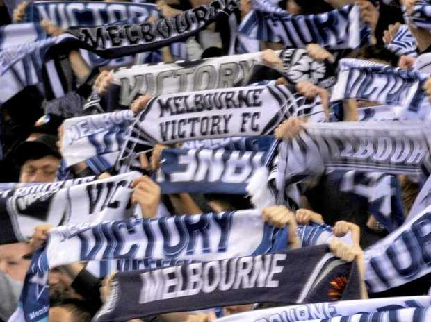 Melbourne Victory has released a statement condemning the behaviour of a section of its supporters.