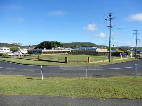 The site of the new motel to be built at Maclean Bowling Club.
