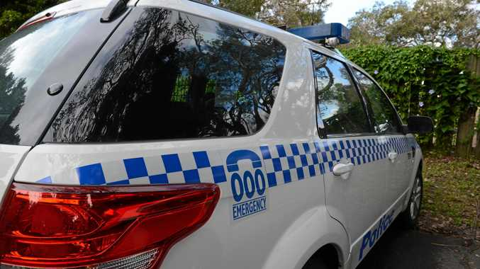 NSW Police car. Photo : Mireille Merlet-Shaw/The Northern Star