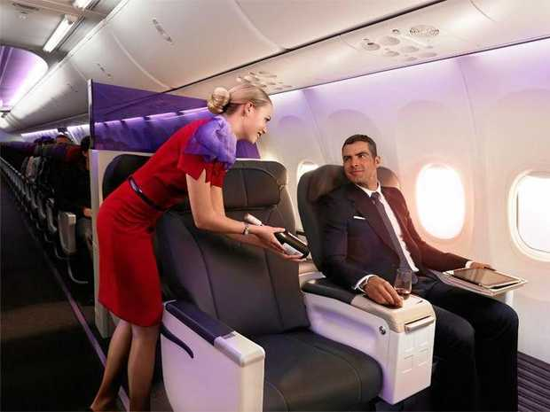 Virgin will offer business class flights from Coffs Harbour.
