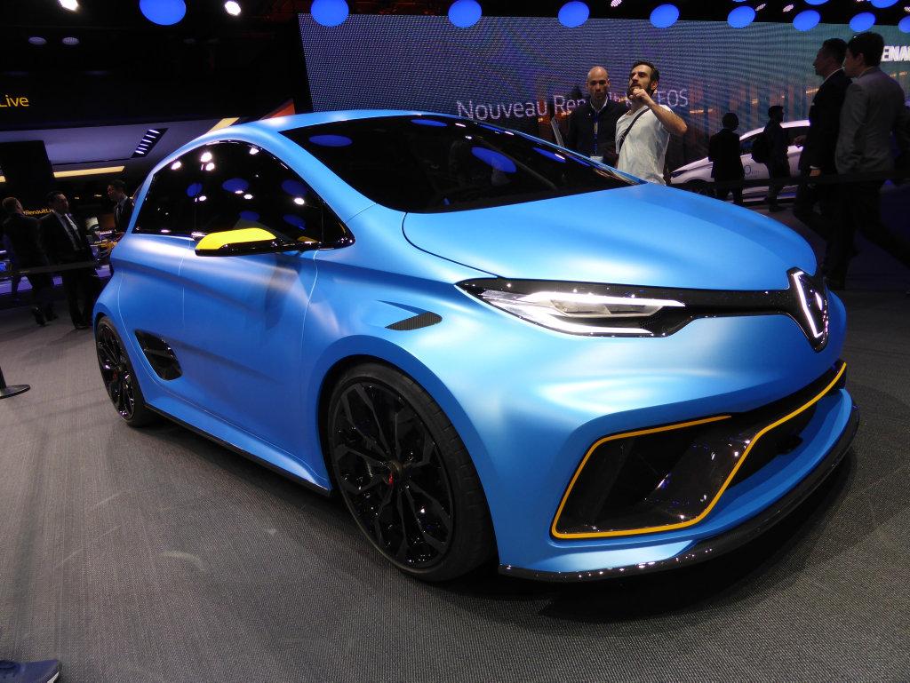Renault Zoe at the 2017 Geneva Motor Show