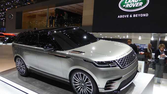 Range Rover Velar at the 2017 Geneva Motor Show