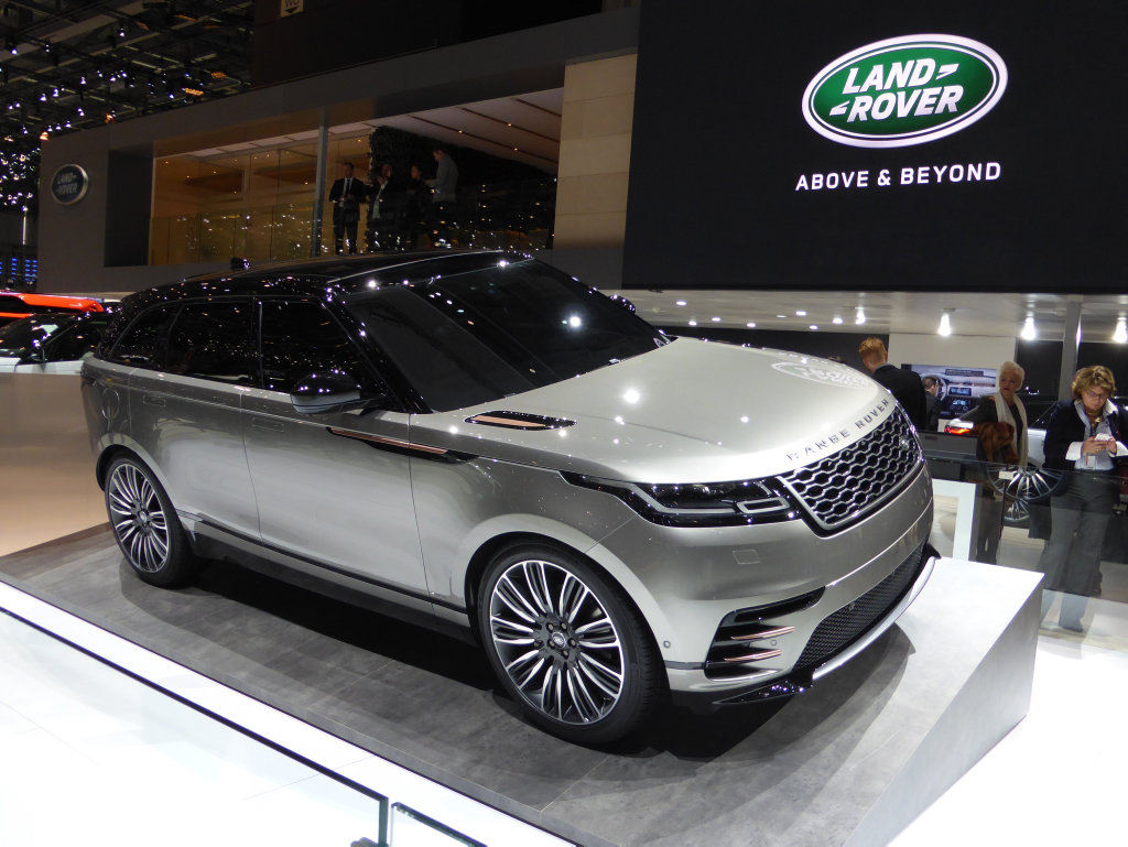 Range Rover Velar at the 2017 Geneva Motor Show