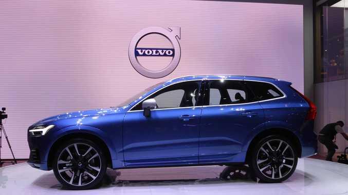 Volvo XC60 at the 2017 Geneva Motor Show