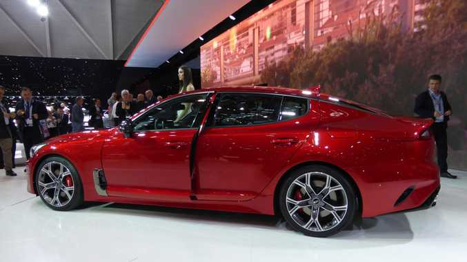 Kia Stinger at the 2017 Geneva Motor Show