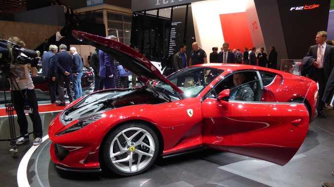 Ferrari 812 Superfast at the 2017 Geneva Motor Show