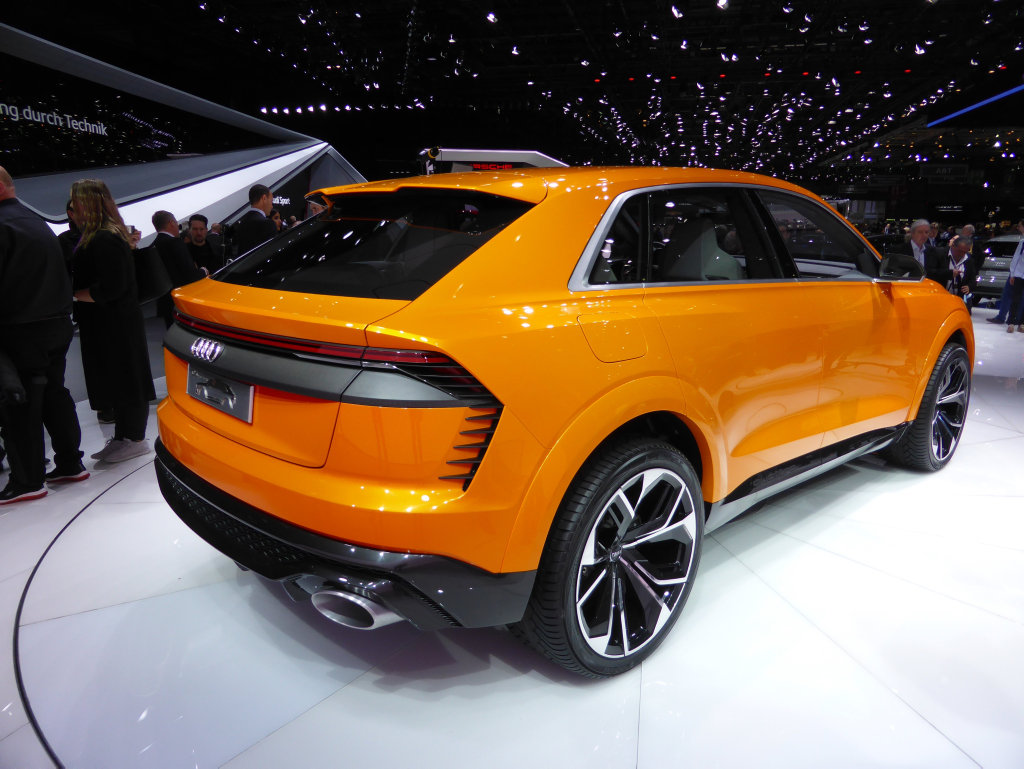Audi Q8 Concept at the 2017 Geneva Motor Show