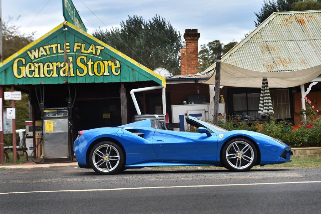 Drop Top With Bite Ferrari 488 Spider Road Test And Review Sunshine Coast Daily