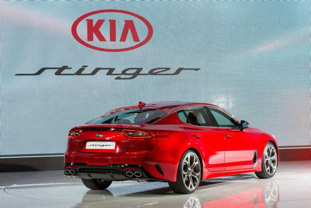 2017 Kia Stinger at the Geneva Motor Show