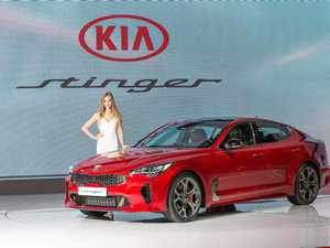 FASTEST EVER: Kia's Stinger Grand Tourer, which hits 100kmh in 5.1-seconds, is destined to arrive in Australia as the home-made Commodore finishes.