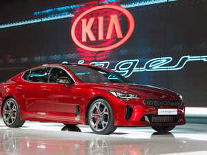 Kia Stinger at Geneva