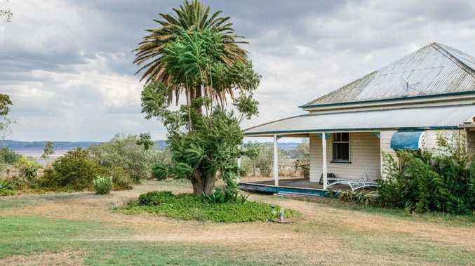 262 Wyreema Rd was passed in at auction on Tuesday with a live bid of $1 million.