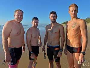Mudjimba Island Charity Swim.