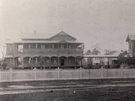 Maryborough Hospital in 1890. Credit: Maryborough, Wide Bay and Burnett Historical Society