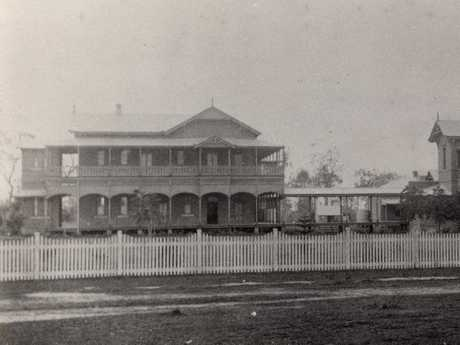 Maryborough Hospital in 1890. Credit: Maryborough, Wide Bay and Burnett Historical Society