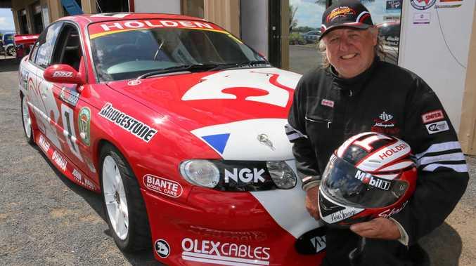 SUPERCAR: Tim Linnan will race his 2001 Holden Commodore Skaife/Longhurst Bathurst replica.