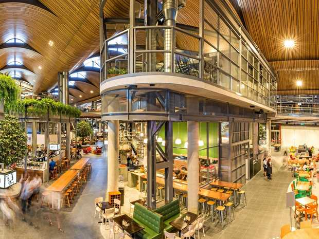 The Kitchens is a $160 million 'food playground' that was opened at the Robina Town Centre in November, last year.