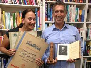 Rare books found on the shelves of a Lismore charity shop