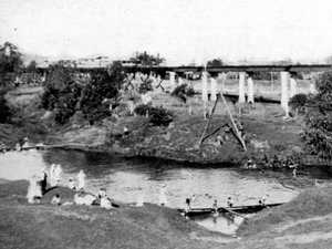 Petrie Creek has always been a focus in Nambour