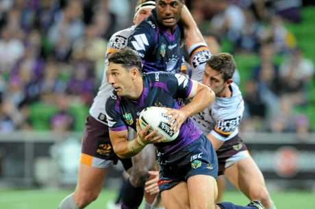 Billy Slater on the move in Melbourne
