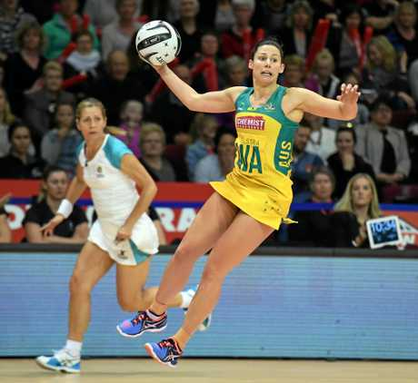 STAR: Madi Robinson playing for  Australia.