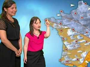 'I've done it, I'm finally a weather girl'