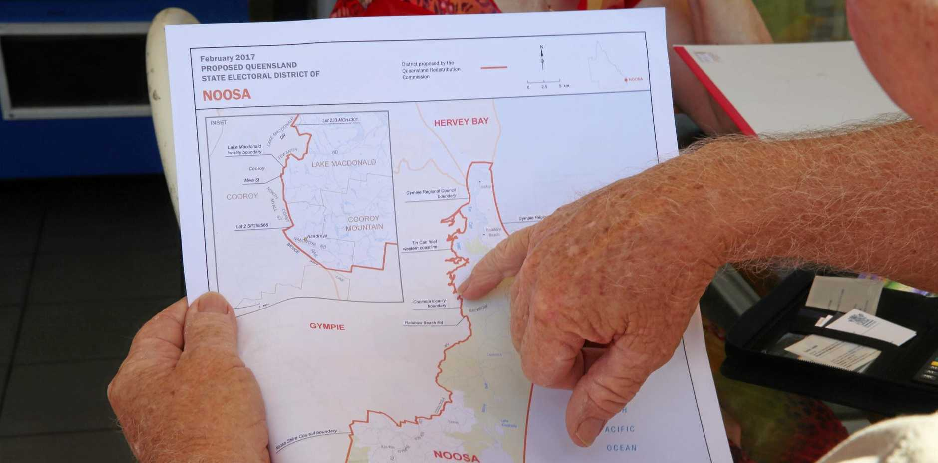 Submissions open over the proposed Rainbow Beach electoral changes.