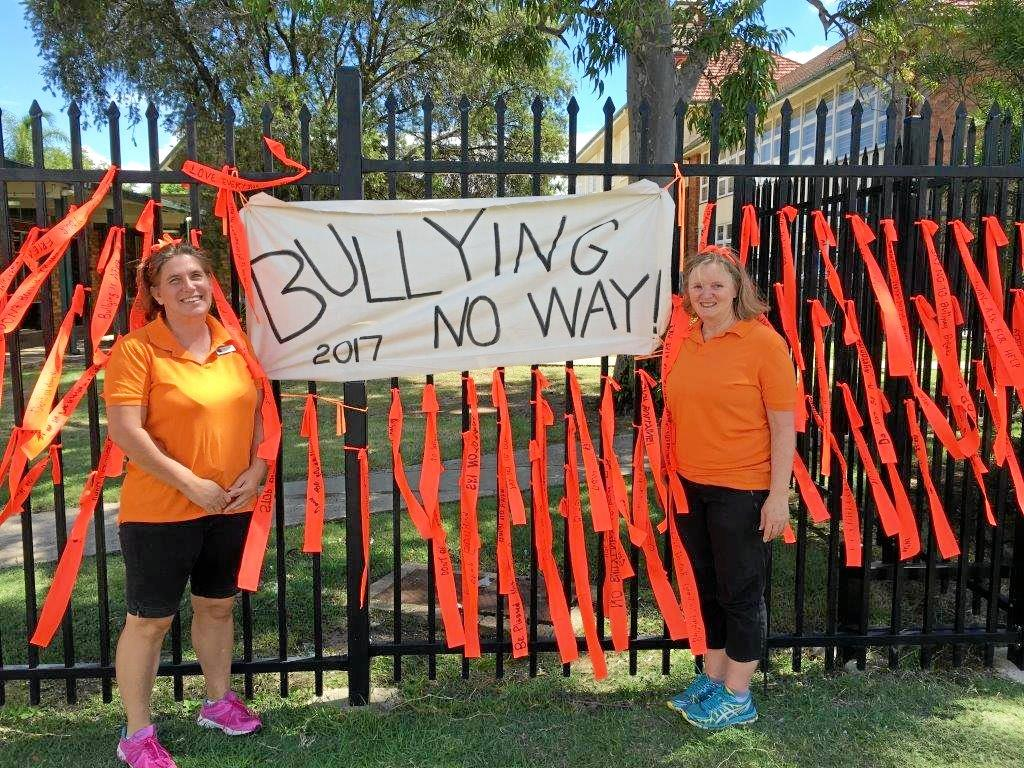 Tammy Brown and Michelle Ferdinand sent the anti-bullying message loud and clear.