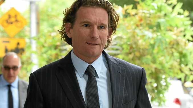Former Essendon coach James Hird leaves the Supreme Court in Melbourne on February 17 last year.