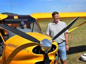 Aviation pioneer, Graham's still got it after 80 years
