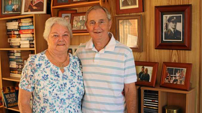 RETIREES HEAVEN: Joy and John Telfer made the move to Warwick in 2005 after seeing friends enjoy the area and the number of social clubs available.