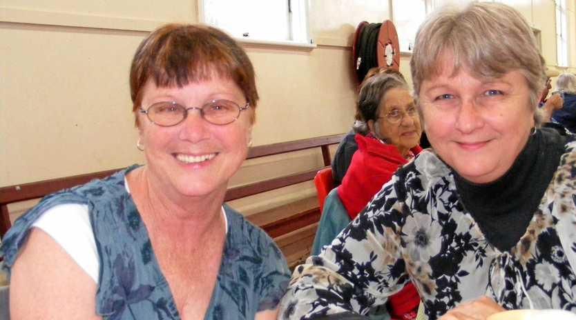 Lyn McMillan and her sister, murder victim Gail Lynch.
