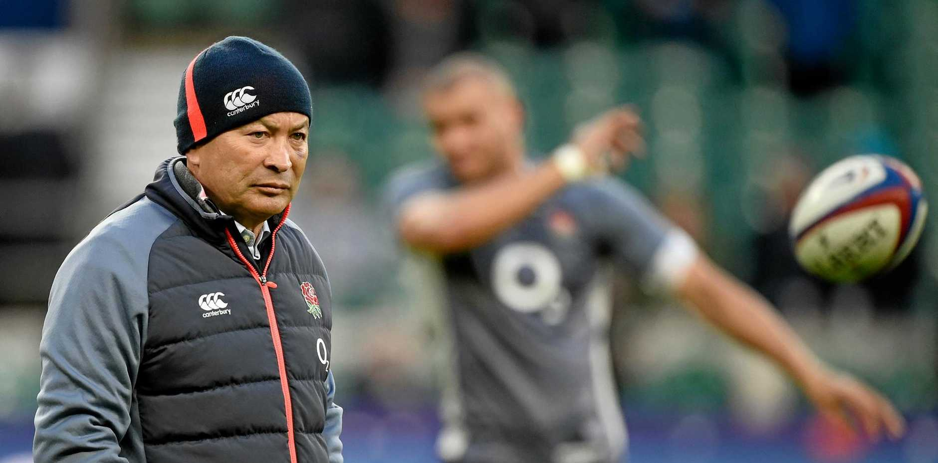 England coach Eddie Jones has moved to end any complacency among his players before their clash with Ireland in Dublin.