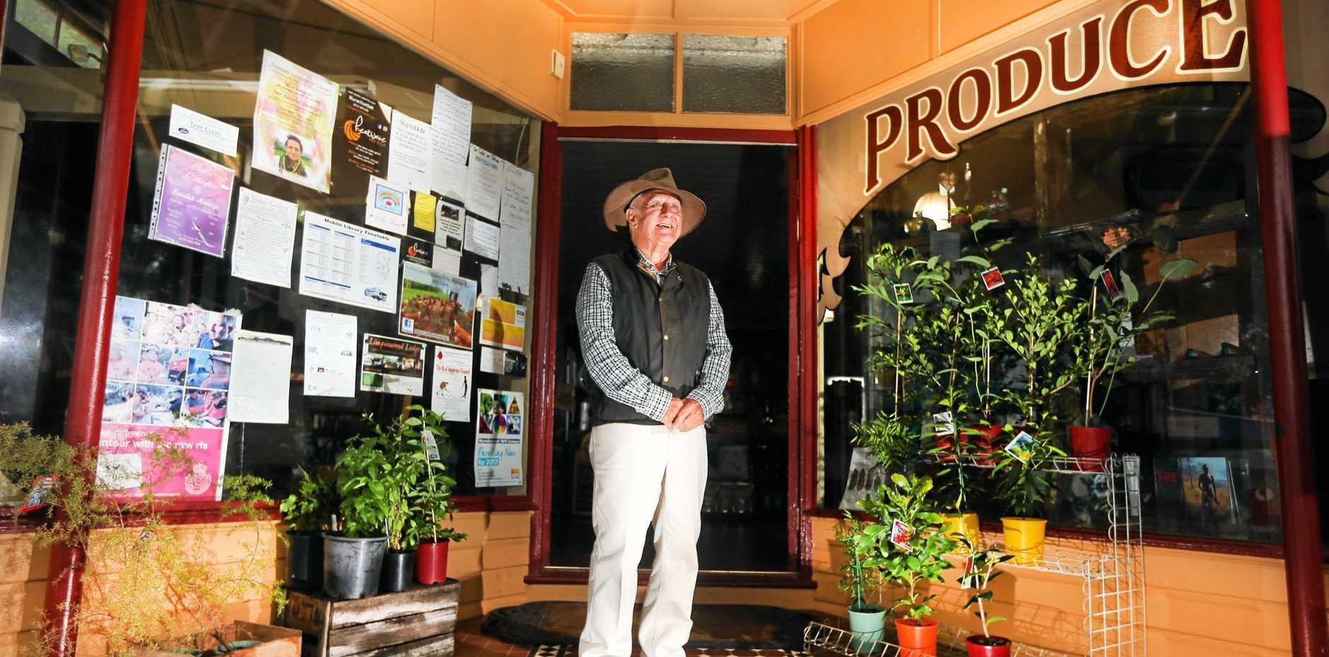 WORDSMITH: Bush poet Dennis Scanlon is a fifth generation Australian.