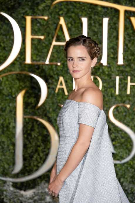 Emma Watson attends the UK launch event and special screening of the movie Beauty and the Beast. Supplied by Disney.