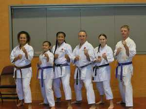 JKA training seminar in Mackay