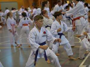 JKA training seminar in Mackay 2
