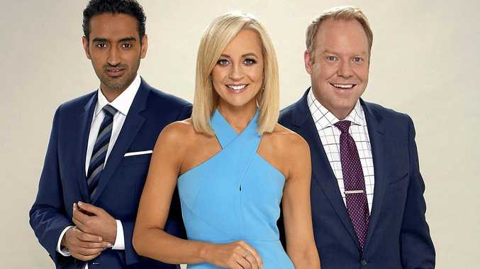 INVESTIGATION: The Project's hosts, Waleed Aly, Carrie Bickmore and Peter Helliar.