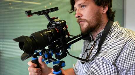 Local filmmaker James Latter.