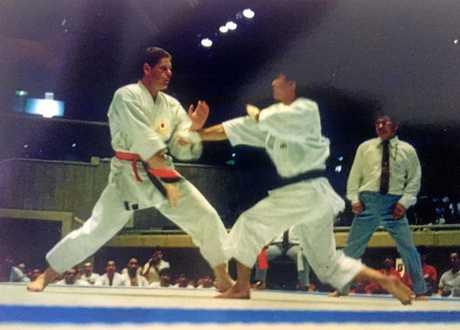Sennsei Lutie van den Berg and Tatsuya Naka Sensei first met in 1992 in the quarter final of the world championships.