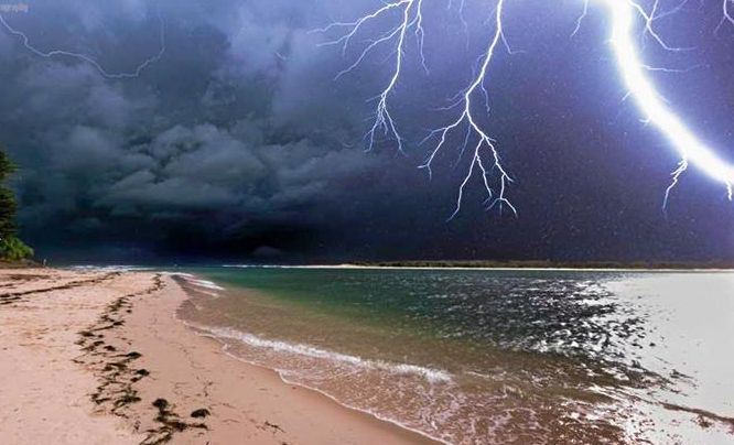 WILD WEATHER: Storms are heading for the Coast.
