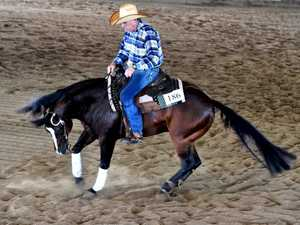 Reining Australia ribbon event - Maryborough