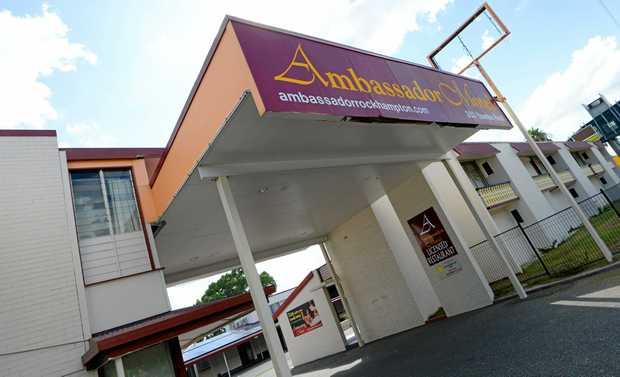 The Ambassador Motel on Yaamba Road, Rockhampton.