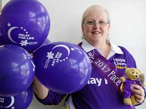 Local cancer survivor the face of Rocky Relay for Life
