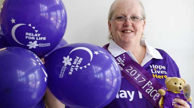 FIGHTER: Lyndel Onions is the face of Rockhampton Relay for Life 2017 after surviving breast cancer.