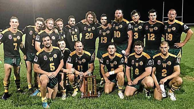 GREAT START: Wattles Warriors win the Ragh Family Trophy.
