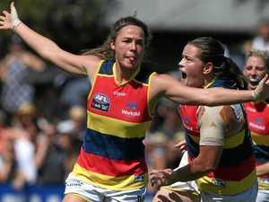 Crows claw back to make first women's grand final